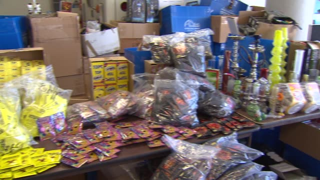 WGN $750000 worth of synthetic marijuana was seized from a warehouse Most of the drugs were hidden in hollowed out pop cans and candy wrappers on...