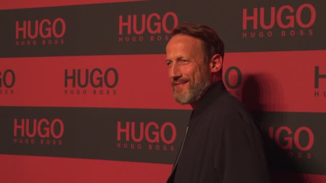 wotan wilke möhring at the hugo launch party with live performance by liam payne during the berlin fashion week spring/summer 2020 at wriezener... - liam payne stock videos and b-roll footage