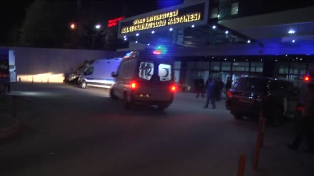 wounded people are taken to hospital after terrorists detonated a car laden with explosives and simultaneously launched a gun attack with... - kurdistan workers party stock videos & royalty-free footage
