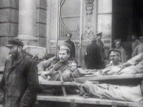 wounded Russian soldiers