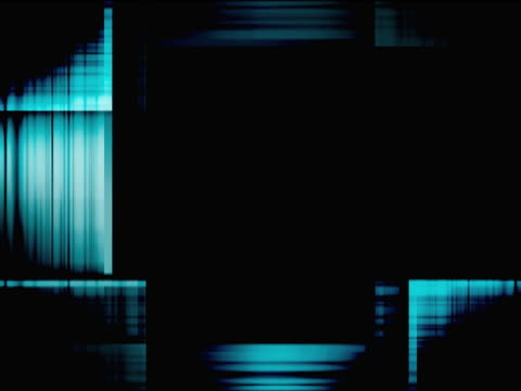 woven turquoise pattern intersecting rectangle - rectangle stock videos and b-roll footage