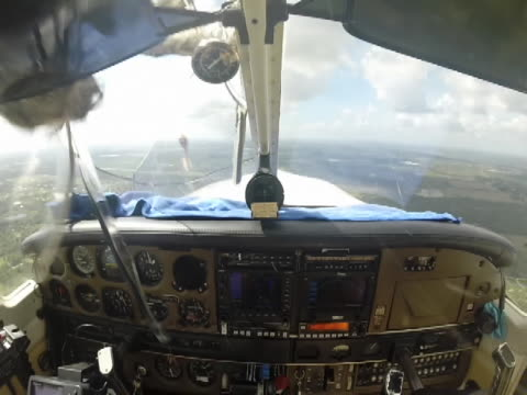Wow this is just plane scary A cockpit camera records the moment a bird of some kind strikes the plane's windshield and knocks it out Somehow the...