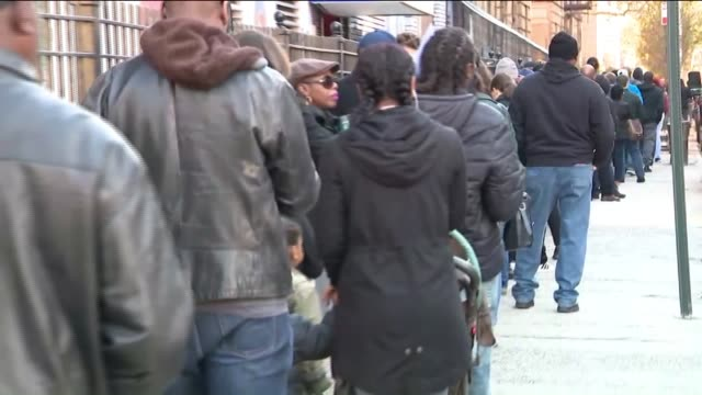 people wait in long lines for voting. - ballot slip stock videos & royalty-free footage