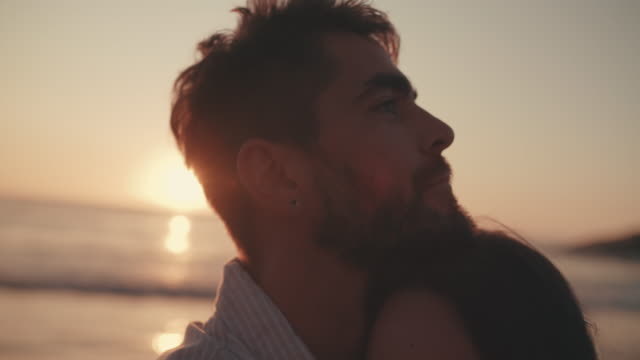 wrapped in the sweet embrace of romance - falling in love stock videos & royalty-free footage