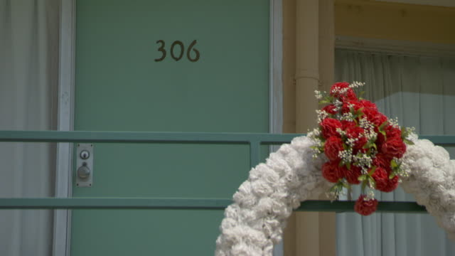 ms wreath outside room 306 at lorraine motel / memphis, tennessee, united states - memphis tennessee stock videos & royalty-free footage