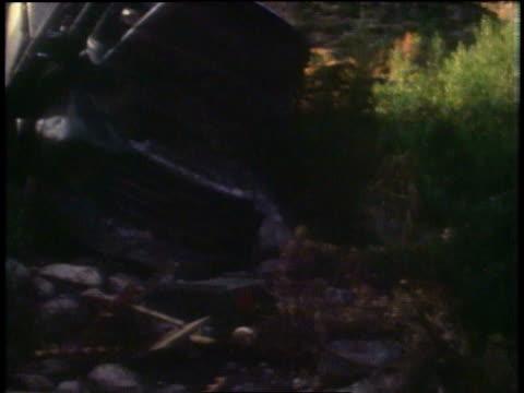 wreckage of a tank and trucks / peshawar, pakistan - peshawar stock videos & royalty-free footage
