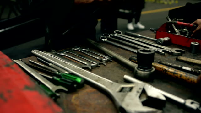 wrench set - work tool stock videos & royalty-free footage