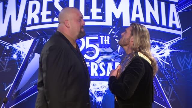 WrestleMania 25th Anniversary Press Conference New York City NY 03/31/09