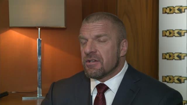 WWE wrestler Triple H interview Paul 'Triple H' Levesque interview SOT