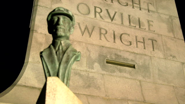 Wright Brothers National Monument Orville Rack Focus