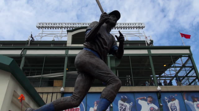 Wrigley Field, home of the Chicago Chicago