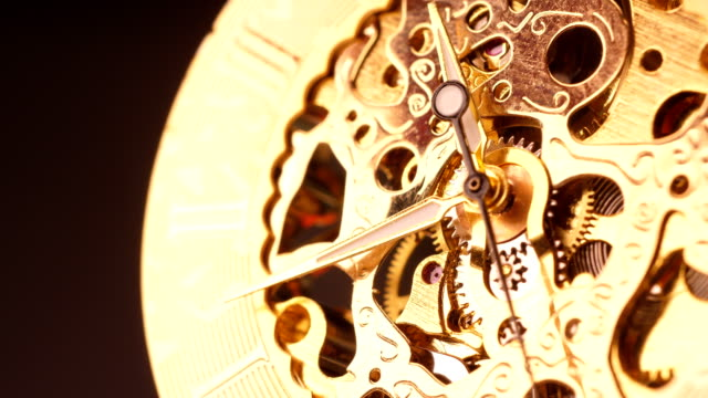 armbanduhr makro - römische zahl stock-videos und b-roll-filmmaterial