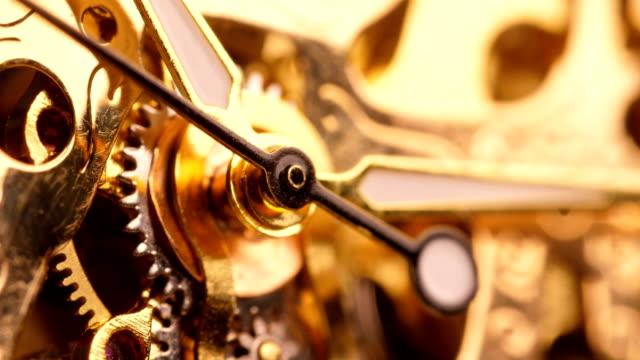 wristwatch macro - clock hand stock videos & royalty-free footage