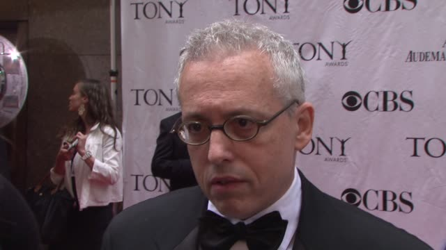 Writer Donald Margulies on being nominated for Time Stands Still on being excited about the Tonys On working with Laura Linney how fantastic she is...