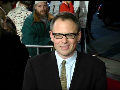 vídeos y material grabado en eventos de stock de writer-director bill condon at the 'kinsey' premiere arrivals at the mann village theatre in westwood, california on november 8, 2004. - kinsey título de película