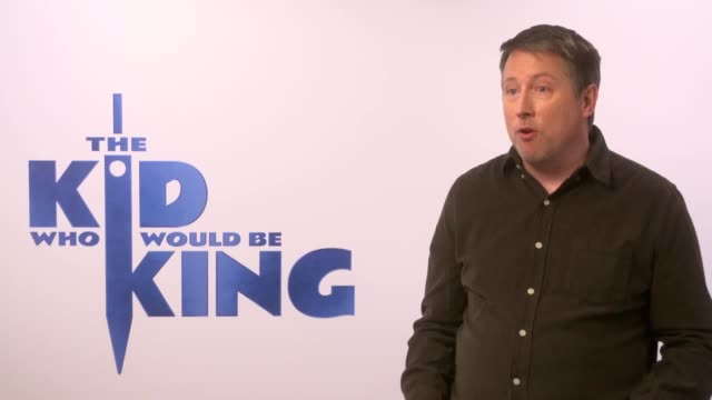 writer-director joe cornish and louis ashbourne serkis, dean chaumoo, tom taylor and rhianna dorris, who all star in the film, talk about the... - epic film stock videos & royalty-free footage