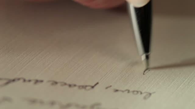 writing - correspondence stock videos & royalty-free footage