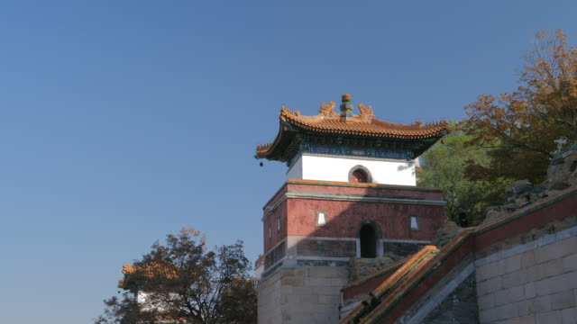 WS_Chinese style architecture in Summer Palace, UNESCO World Heritage Site, Beijing, China