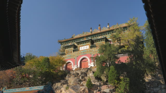 WS_Chinese style building on hill in Summer Palace, UNESCO World Heritage Site, Beijing, China