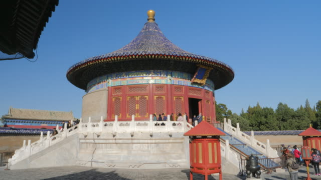 ws_imperial vault of heaven, temple of heaven, unesco world heritage site, beijing, china - himmelstempel stock-videos und b-roll-filmmaterial