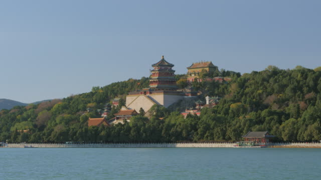 WS_Longevity Hill across Kunming Lake, Summer Palace, UNESCO World Heritage Site, Beijing, China