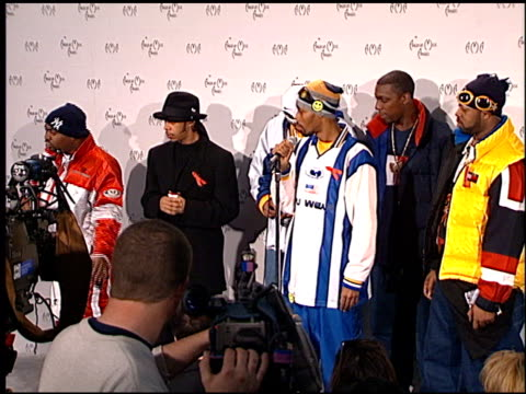 Wu Tang Clan at the American Music Awards 1998 at the Shrine Auditorium in Los Angeles California on January 26 1998