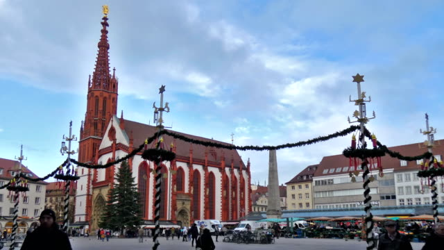 wuerzburg - advent stock videos & royalty-free footage