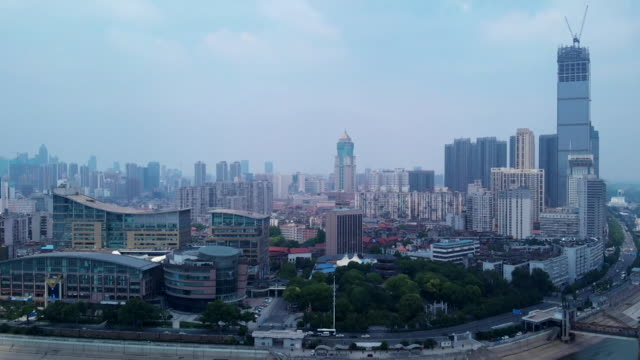 wuhan skyline - occurrence stock videos & royalty-free footage