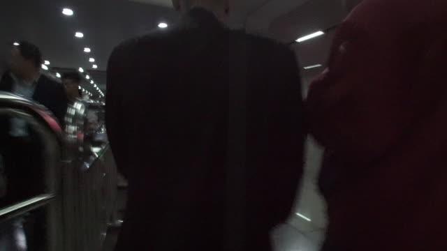 Wuhan Subway passengers
