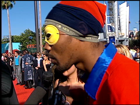 RZA WuTang Clan at the 1998 MTV Video Music Awards entrances at Universal Amphitheatre in Universal City California on September 10 1998