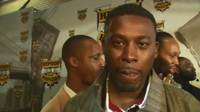 GZA/ WuTang Clan Memberhonoree/ Talks about how it feels to be honored at the 2006 VH1 Hip Hop Honors at the Hammerstein Ballroom in New York New...