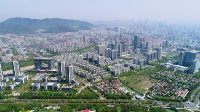 wuxi cityscape - wuxi stock videos and b-roll footage