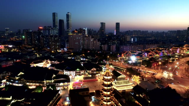 wuxi nanchan temple scenic spot - wuxi stock videos and b-roll footage