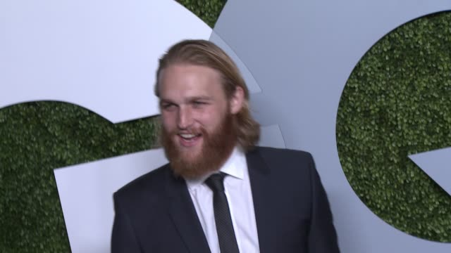 wyatt russell gq celebrates the 2014 men of the year at chateau marmont on december 04 2014 in los angeles california - wyatt russell stock videos and b-roll footage
