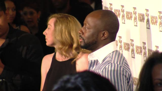 vidéos et rushes de wyclef jean at the 22nd annual ascap rhythm and soul awards at beverly hills ca - ascap