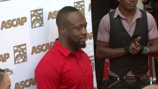 vidéos et rushes de wyclef jean at the 26th annual ascap pop music awards at hollywood ca. - ascap