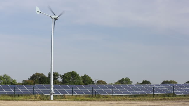 wymeswold solar farm the largest solar farm in the - leicestershire stock videos & royalty-free footage