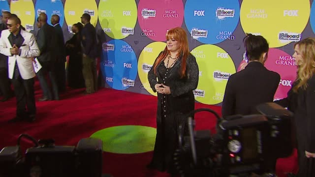 wynonna at the 2006 billboard music awards at the mgm grand hotel in las vegas nevada on december 4 2006 - mgm grand las vegas stock videos & royalty-free footage