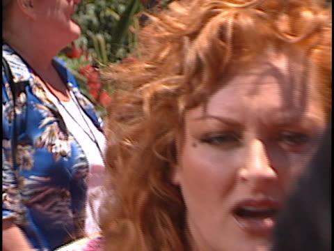 wynonna judd at the lilo & stitch at el capitan theater, hollywood. - wynonna judd stock videos & royalty-free footage