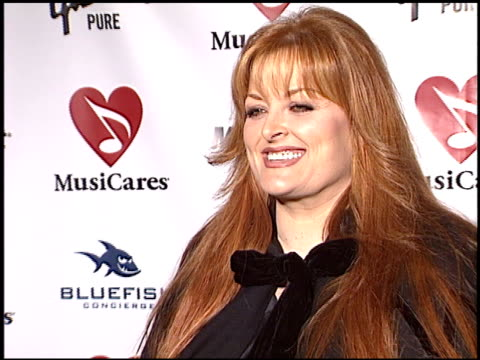 Wynonna Judd at the MusiCares 2004 Person of the Year Sting at Sony Pictures Studios in Culver City California on February 6 2004