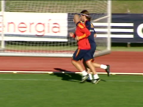Xabi Alonso back as Spain prepare for Scotland on October 11 2011 in Las Rozas Spain