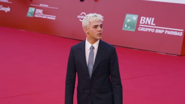 Xavier Dolan at Xavier Dolan Red Carpet At Rome Film Fest on October 27 2017 in Rome Italy