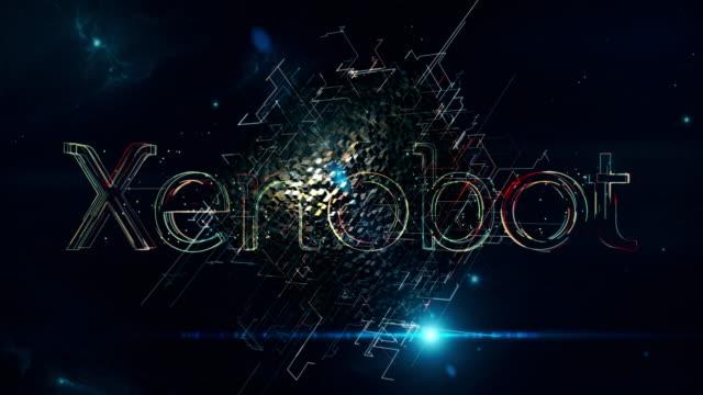 xenobot matrix cube - autonomous technology stock videos & royalty-free footage