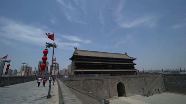 Xi'an City Wall is the most complete city wall that has survived in China as well being one of the largest ancient military defensive systems in the...