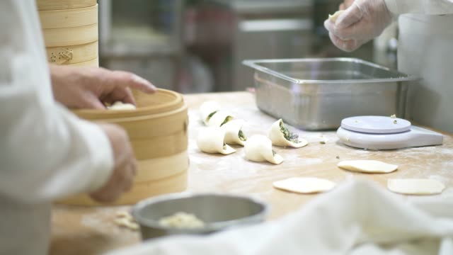 xiao long pao - chinese food stock videos & royalty-free footage
