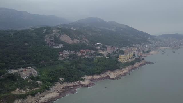 vídeos y material grabado en eventos de stock de playa xiapu de fujian, china. un tramo de playa en el condado de xiapu de la provincia de fujian en el sur de china. - organismo acuático