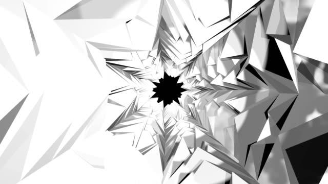 еxit aus einer abstrakten tunnel - abgerissen stock-videos und b-roll-filmmaterial