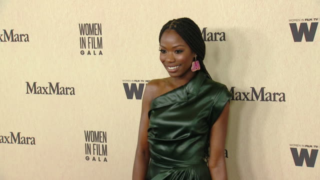 xosha roquemore at 2019 women in film annual gala presented by max mara with additional support from partners delta air lines and lexus at the... - delta air lines stock-videos und b-roll-filmmaterial