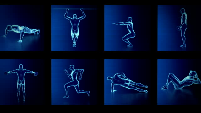 Xray fitness exercises