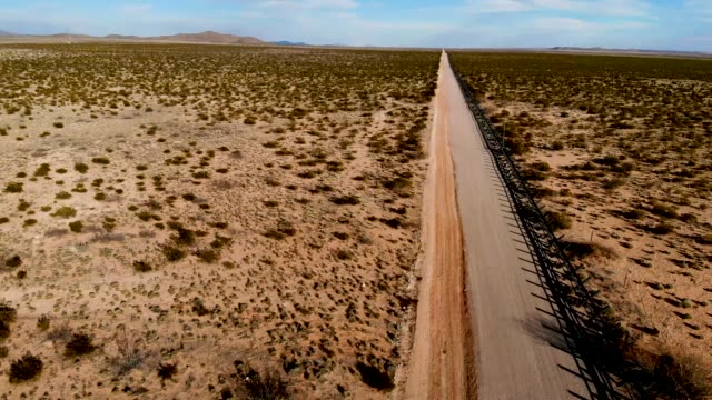 shaped steel beams mark the border between the u.s. and mexico as the united states government continues its shutdown over a fight to fund more... - government shutdown stock videos & royalty-free footage